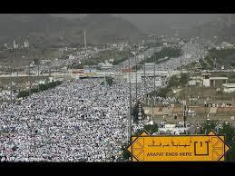 Gambaran Ringkas Ibadah Haji Selama di Padang Arafah
